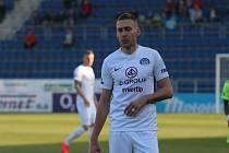 Fotbalista Slovácka Jan Kalabiška.
