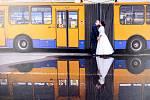 Výstava Svatební fotografie 4x jinak . Turistické centrum Velehrad. Foto: Jana Máčková