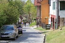 Vinohradní ulice v Mařaticích.