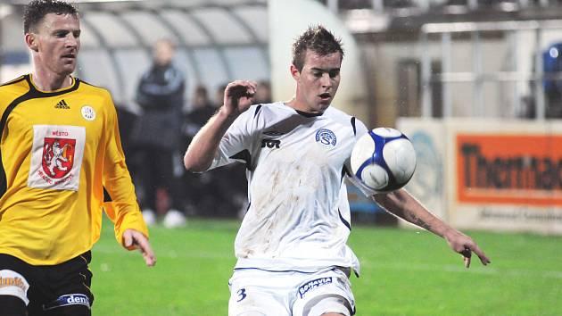 Fotbalové utkání mezi 1. FC Slovácko a FC Hradec Králové