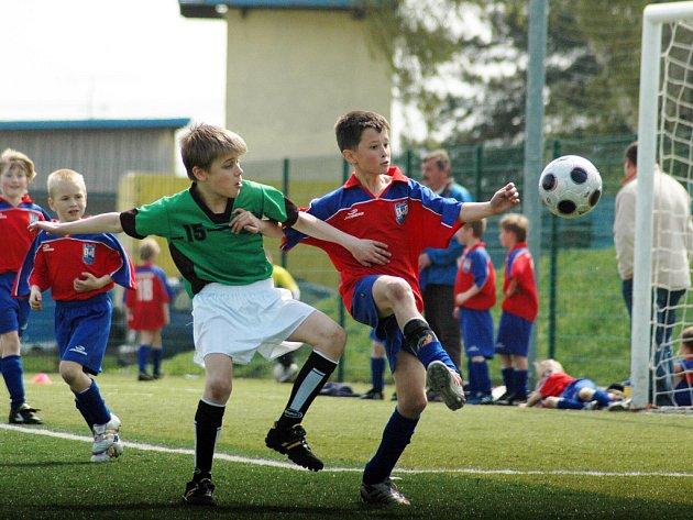Fotbalový turnaj školních družstev Mc Donald's Cup 2008: ZŠ St. Město - ZŠ Sportovní škola Uh. Hradiště