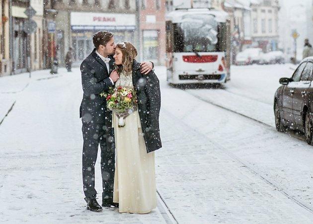 Soutěžní svatební pár číslo 181 - Michaela a Tomáš Dosedělovi, Samotišky