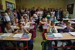 ZŠ UNESCO Uherské Hradiště. 1. A třídní učitelky Kláry Mezírkové.