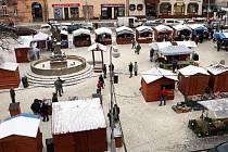 Vánoční trhy v Uherském Brodě.