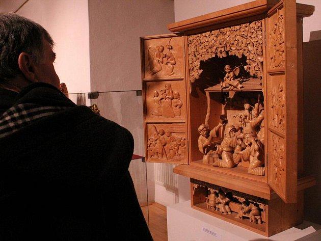 Přes tři tisíce figurek a desítky betlému jsou k vidění v Galerii Slováckého muzea a v hlavní budově Slováckého muzea.