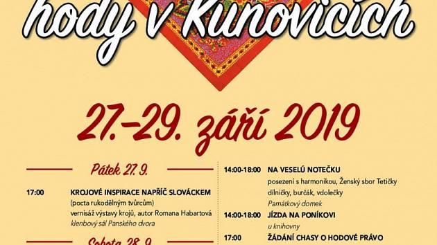 Svatováclavské hody budou v Kunovicích.