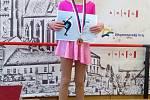 Šárka Kročilová v Brně obsadila třetí místo.