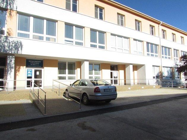 Poliklinika v Uherském Brodě. Ilustrační foto.
