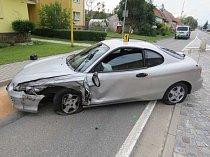 Šumicemi jel opilý třicetiletý řidič vozidla hyundai.