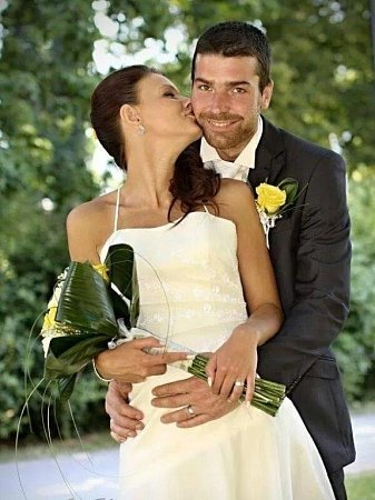 Soutěžní svatební pár číslo 23 - Petra a Vojta Pastrniakovi.