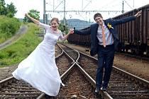 Soutěžní svatební pár číslo 77 - Pavlína a Josef Janečkovi, Vizovice