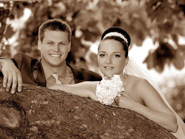 Soutěžní svatební pár číslo 90 - Michaela a Daniel Navrátilovi, Jezernice.