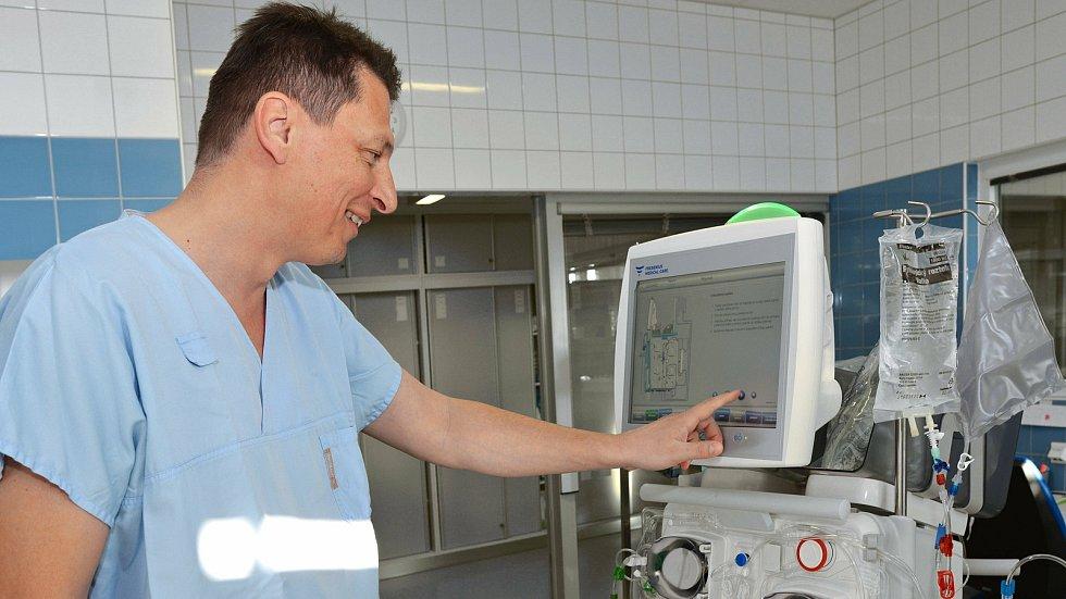 Primář ARO v Uherskohradišťské nemocnici Lubor Hruška
