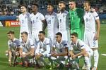 Uherské Hradiště Fotbal ME U21 Anglie Portugalsko  Anglie – Portugalsko (v červeném)