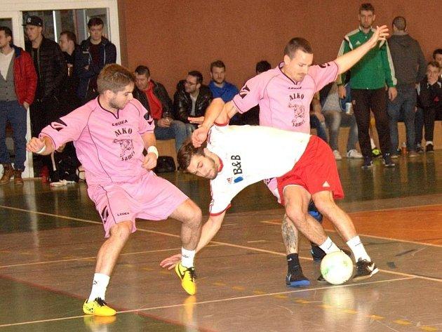 Štěpánský turnaj v halové kopané v Uh. Hradišti.