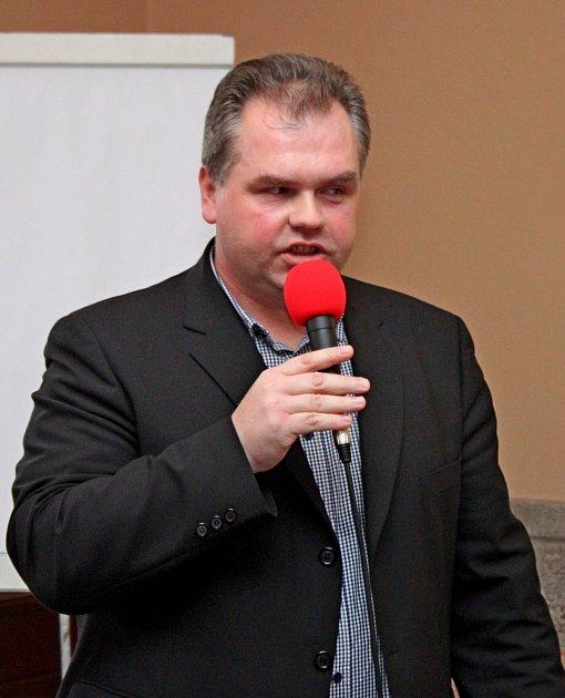 Tomáš Lošák na národním semináři očesneku vBuchlovicích.
