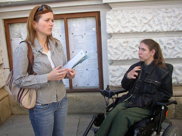 Mezi ty, kterým by měl projekt výrazně napomoct patří handicapovaní.