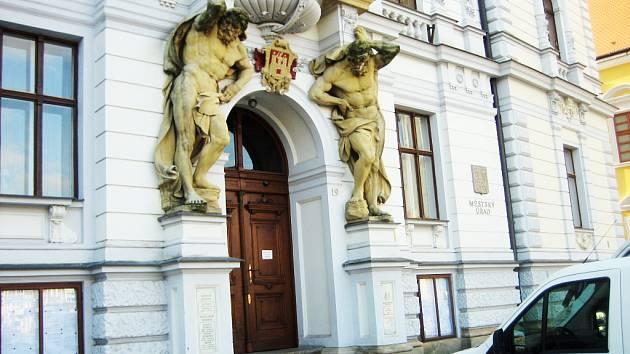 Budova Městského úřadu v Uh. Hradišti.