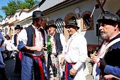 Vsobotu se vní sešlo pět stovek milovníků vína zvýchodní a jižníMoravy.