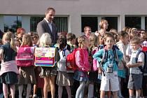 Školáci i kantoři na Slovácku mají za sebou první školní den.