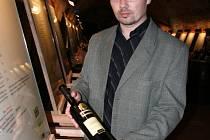 Sommelier  Marek Babisz z Národního vinařského centra.