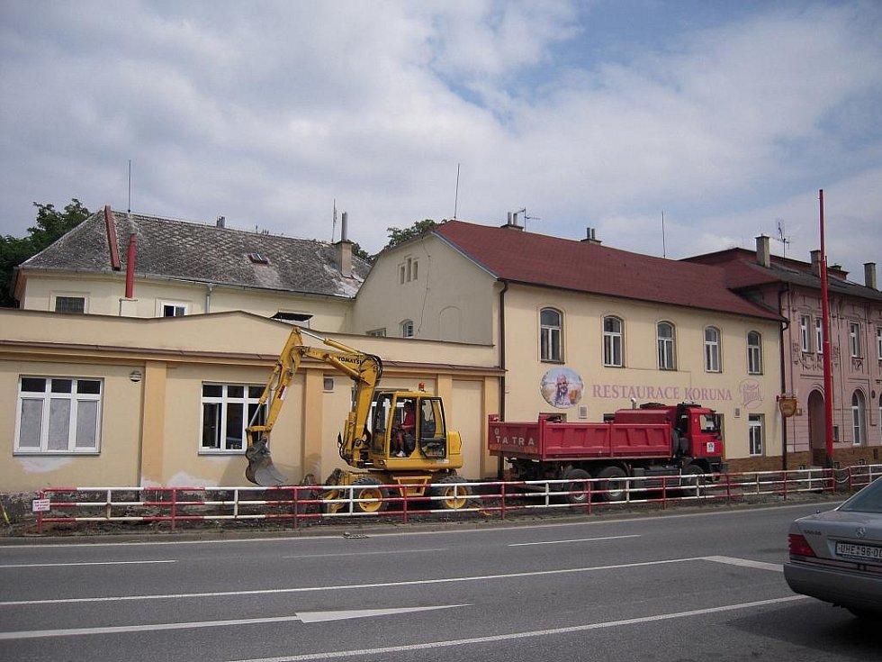 Nová integrovaná stezka pro pěší a cyklisty vzniká v Hradišti.