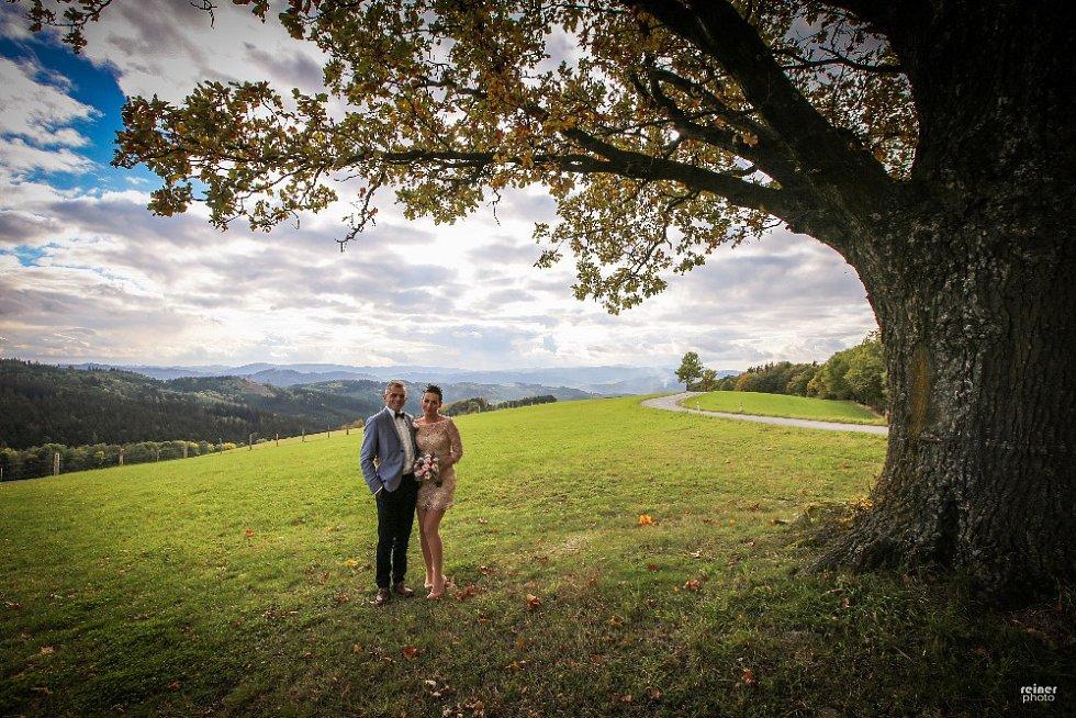 Soutěžní svatební pár číslo 150 - Martina a Martin Holišovi, Valašské Meziříčí
