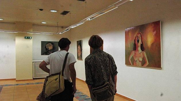 Rakouská malířka původem z Balkánu Mara Mattuschka vystavuje v Klubu kultury.
