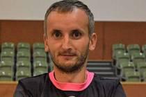 Fotbalista Boršic Petr Filipský v minulosti hrával také futsal za Bazooku Uherské Hradiště.
