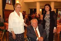 Trojice oceněných, zleva Marta Šuranská, František Daňhel a Božena Habartová.