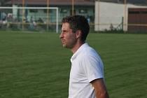 Trenér fotbalistů Uherského Ostrohu Bronislav Šálek.