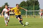 1. FC Slovácko - AS Trenčín 0:1. Přípravný zápas v Ratíškovicích. Milan Kerbr.