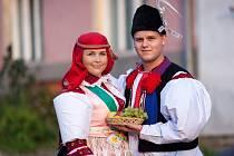 Soutěžní pár číslo 16 – Taťána Hoferková a Jakub Malina, starší stárci, Popovice, 4.-5. října.