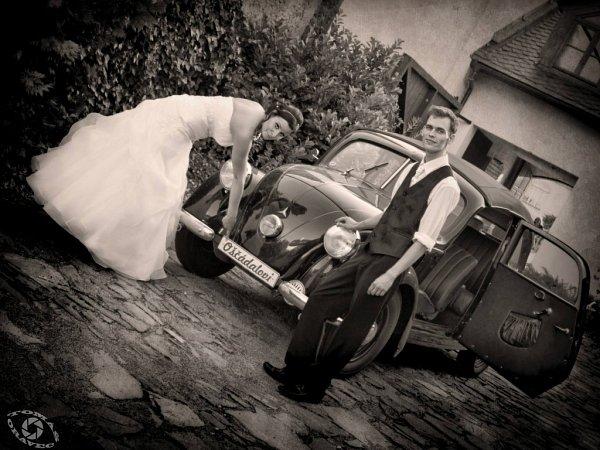 Soutěžní svatební pár číslo 129 - Kristýna a Petr Oščádalovi, Olomouc
