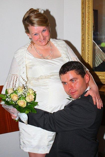 Soutěžní svatební pár číslo 71 - Alena a Vlastislav Duškovi, Dlouhá Loučka