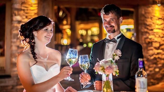 Soutěžní svatební pár číslo 84 - Lucie a Ondřej Němečkovi, Těšetice-Rataje