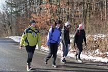 Sobotní počasí přálo účastníkům výšlapu do Chřibů.