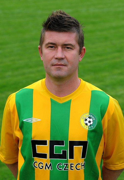 Fotbalista Václav Činčala v minulosti hrával za Zlín, Slovácko nebo Boršice. Foto: archiv Deníku a SK Boršice
