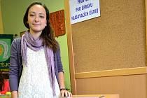 Osmnáctiletá studentka šéfovala volební komisi v Hostějově.