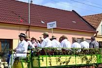 V Boršicích se už potřetí uskutečnily burčákové slavnosti.