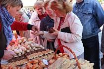 Slovácký festival chutí a vůní v Uherském Hradišti.
