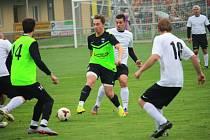 Ilustrační foto ze zápasu Drslavice - Nezdenice
