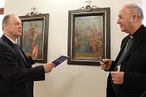Galerii Joži Uprky vyšperkoval cyklus Křížová cesta