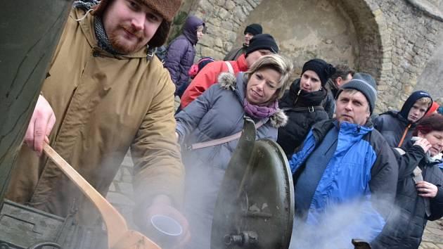 Památky bývají v zimě zavřené, Buchlov už sedmým rokem dělá na Štěpána výjimku.