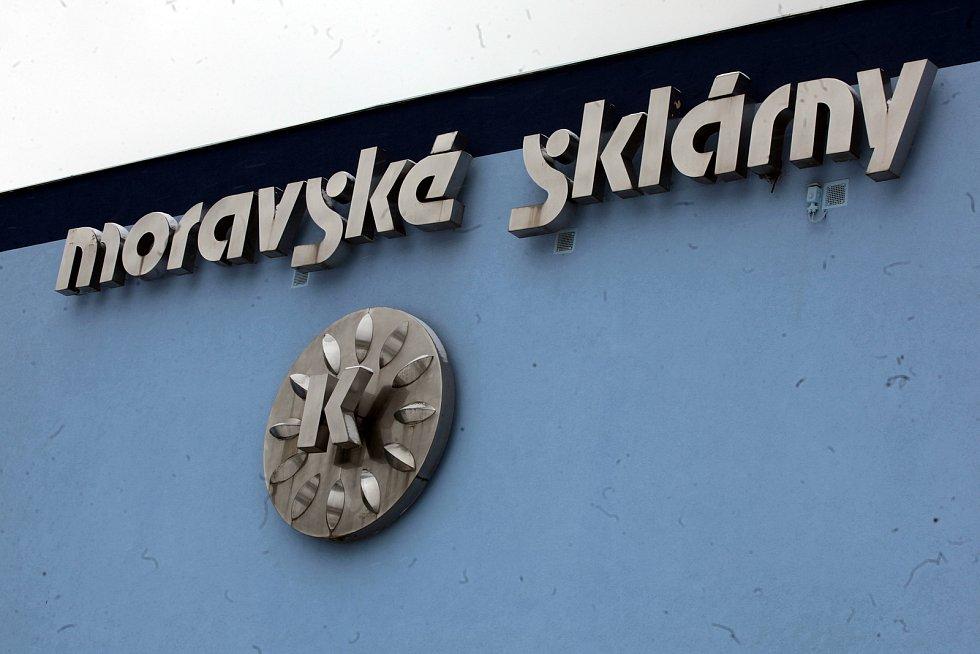 Strání je největší vesnicí Zlínského kraje. Sklárna Květná.