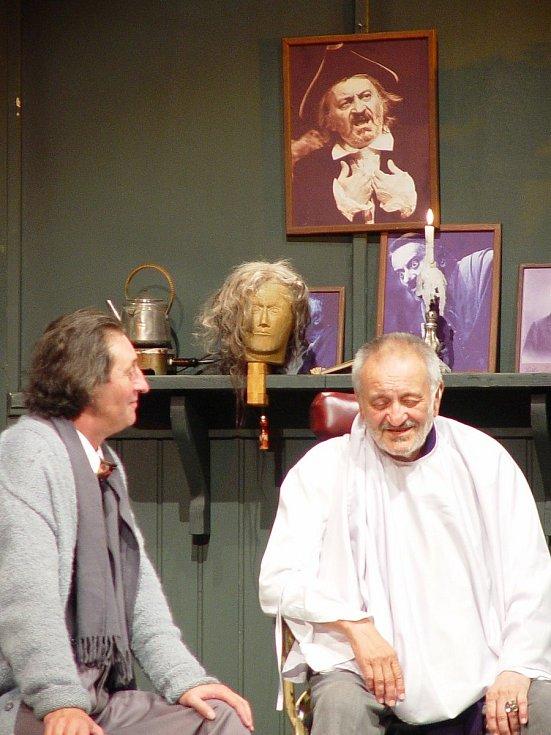Milan Lasica při 60. výročí Slováckého divadla.