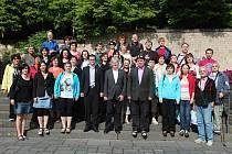 Smíšený pěvecký sbor Svatopluk často zajíždí do německého Mayenu.