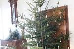 Návštěvníci si mohli prohlédnout vánoční výzdobu z doby Berchtoldů na Buchlově.