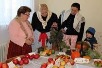 Babičtí zahrádkáři ukázali veřejnosti výsledky své celoroční práce.