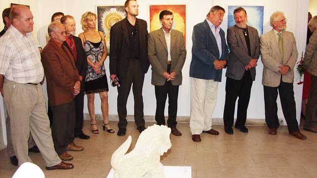 Umělci, kteří vystavují v Brodě.